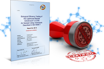ISO14698 Certified Air Samplers