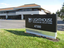 Lighthouse Worldwide Solutions Fremont, CA World Headquarters Image